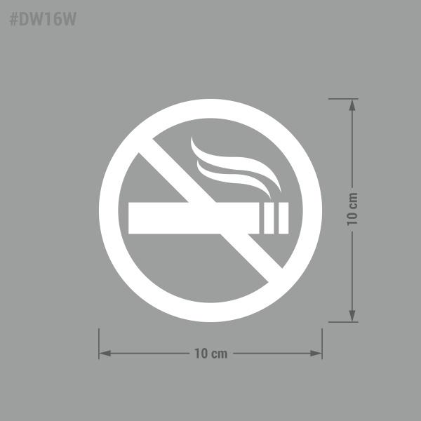 Naklejka Zakaz Palenia. Zakaz Palenia Papierosów.