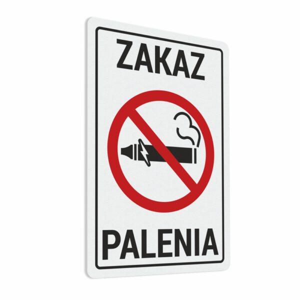 Naklejka Zakaz Palenia. Zakaz Palenia Papierosów Elektronicznych. Zakaz Palenia Tytoniu.