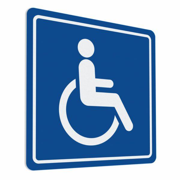 Naklejka. Niepełnosprawny. Inwalida.